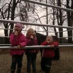 Die 3 Mädels habe die Kamera entdeckt
