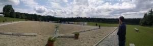 Panorama vom 07.07.2012 - 2x Carola 1x Franzi